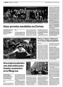 Premios Civivox Diario de Navarra