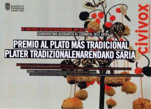 Premio al Plato más Tradicional
